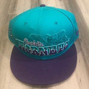 NBA Charlotte Hornets New Era Throwback SnapBack
